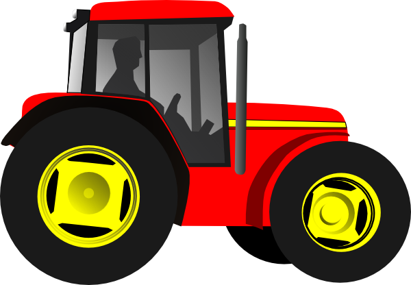 Red Barn Clip Art Transparent red tractor clipart | clipart panda - free clipart images