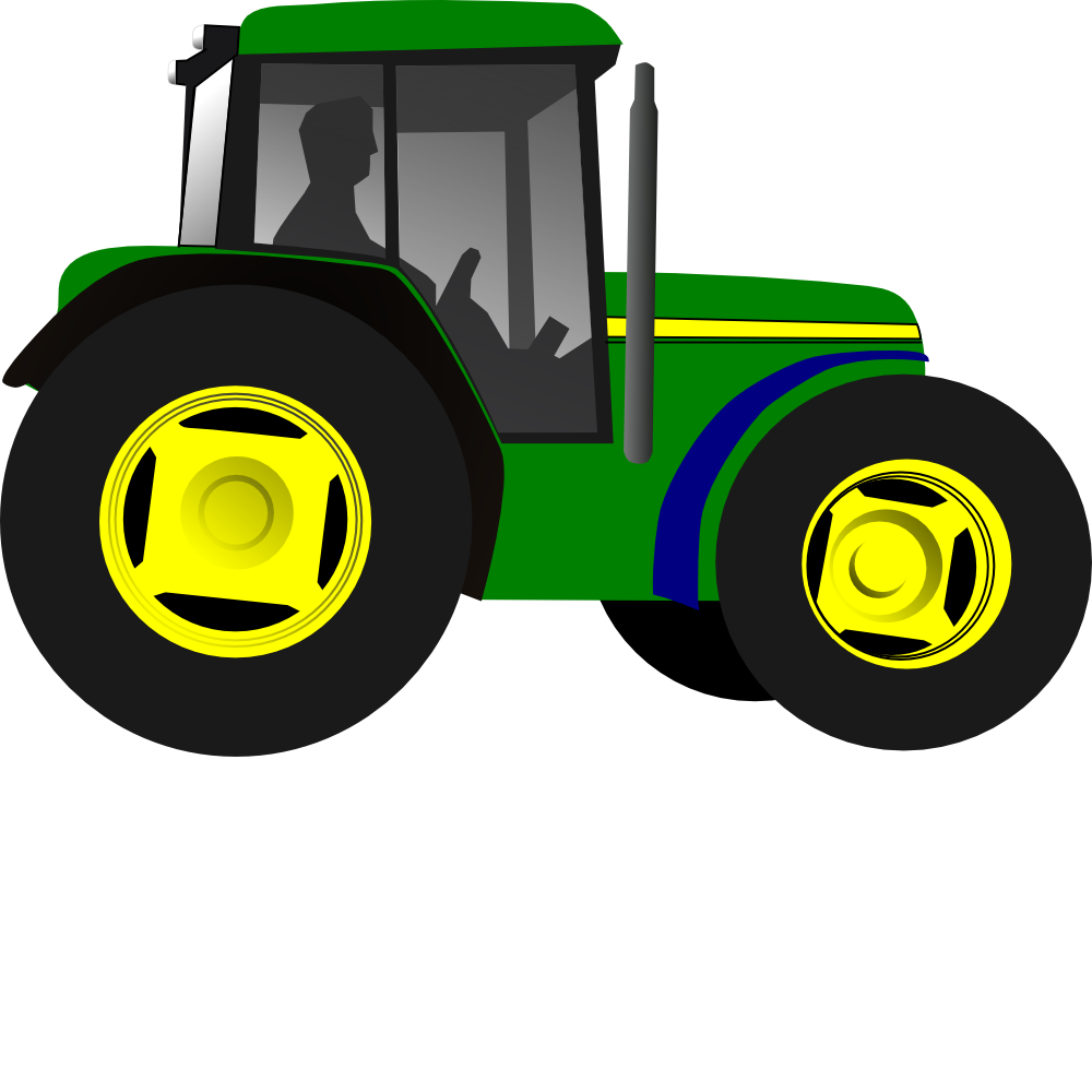 green tractor art clipart panda free clipart images free clipart tractor trailer free tractor clipart images