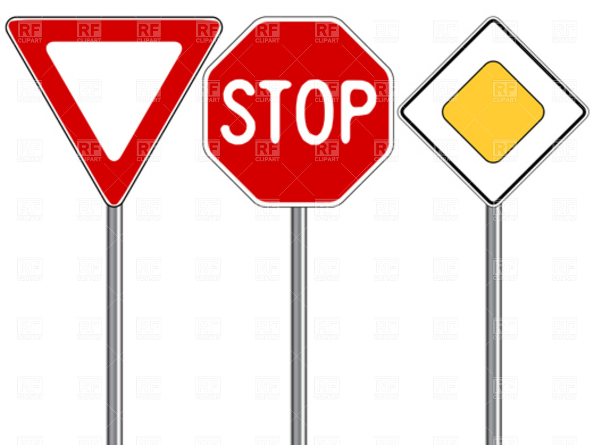 Clip Art Street Sign Clipart traffic sign clipart panda free images