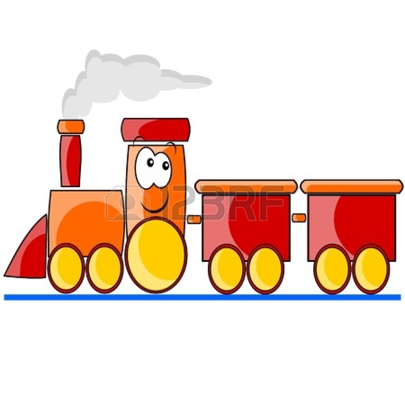 Train Engine And Caboose Clipart | Clipart Panda - Free Clipart Images