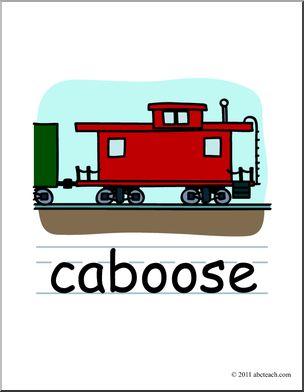 clip art basic words caboose clipart panda free clipart images rh clipartpanda com line caboose clipart caboose clip art free