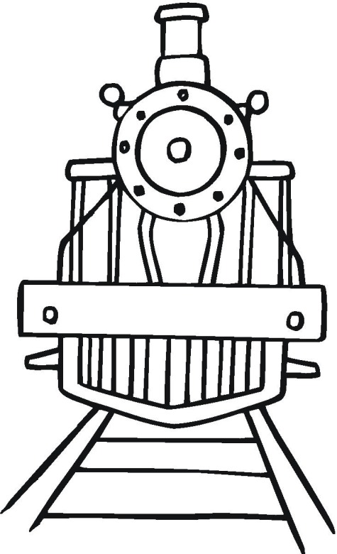 Train Cars Coloring Pages Clipart