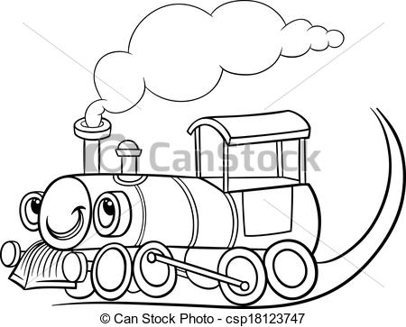 Train Clipart Black And White Clipart Panda