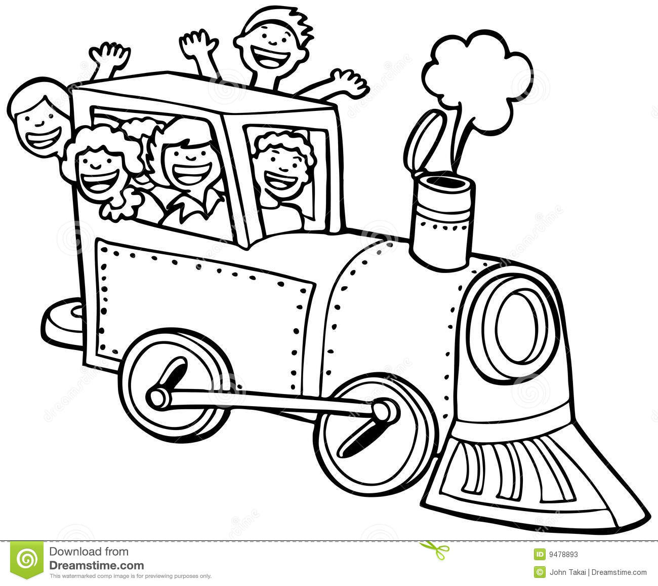 electric train clipart black and white - photo #14