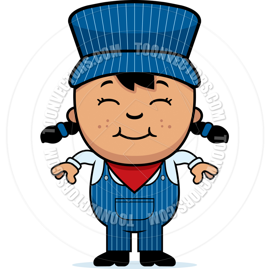 Train Engineer Cartoon | Clipart Panda - Free Clipart Images