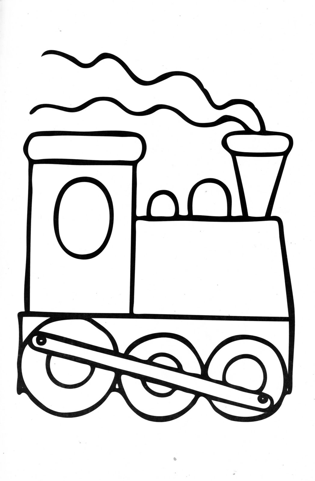 Train coloring pages - Train 20engine 20coloring 20page