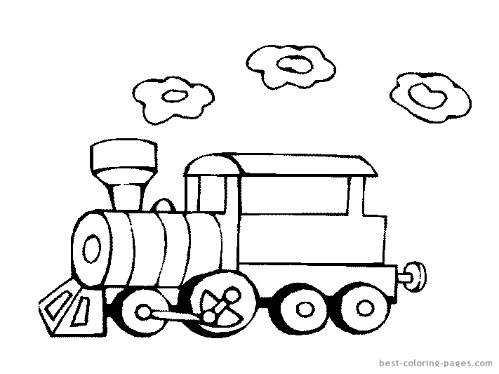 train engine coloring pages - photo#23