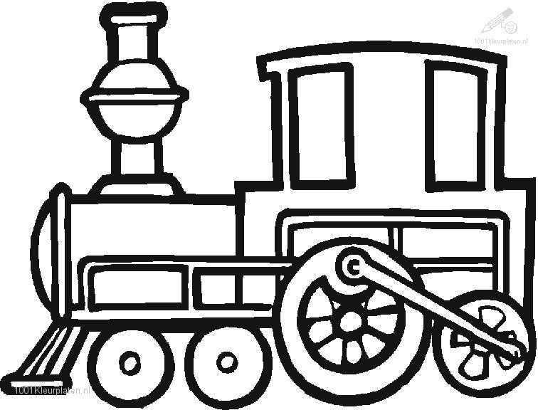 train engine coloring pages - photo#1