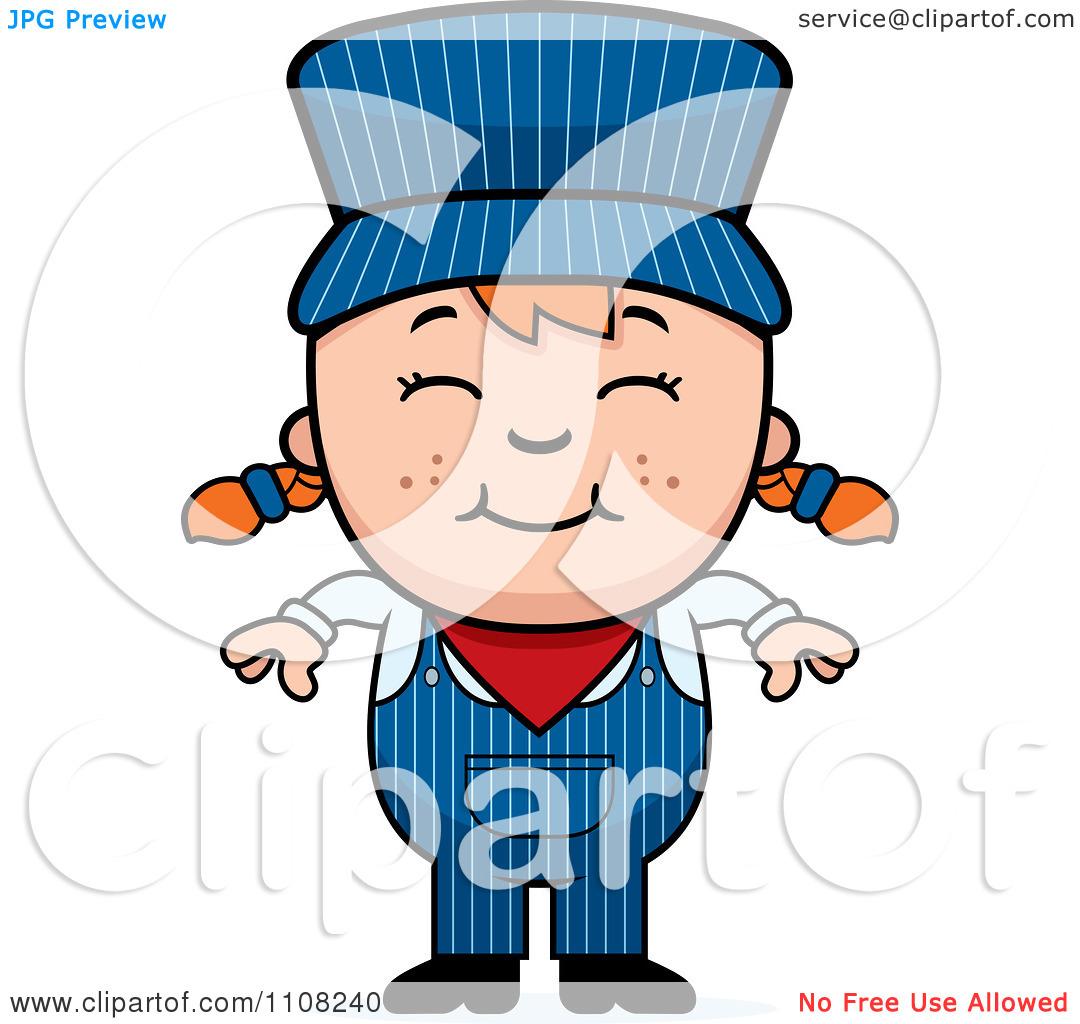 Train Engineer Cartoon | Clipart Panda - Free Clipart Images