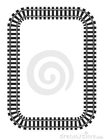 Train Track Border Clipart Clipart Panda Free Clipart