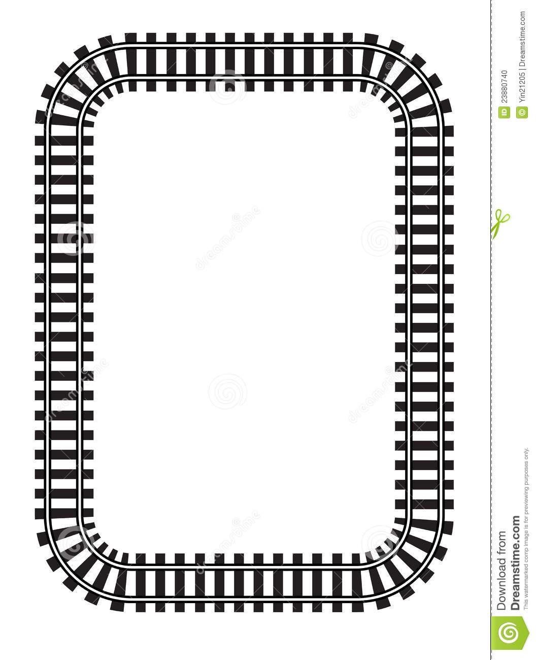 Clip Art Train Track Clipart train track border clipart panda free images