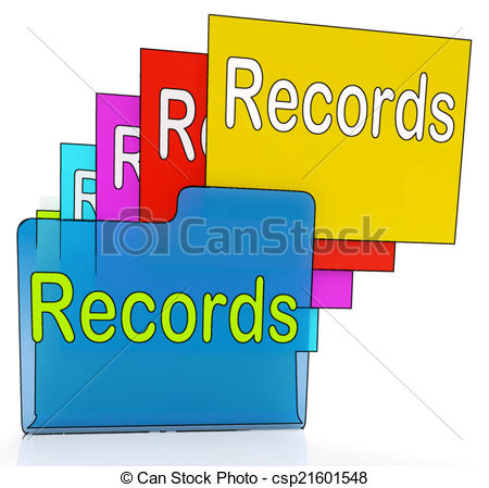 Permanent Record Clip Art