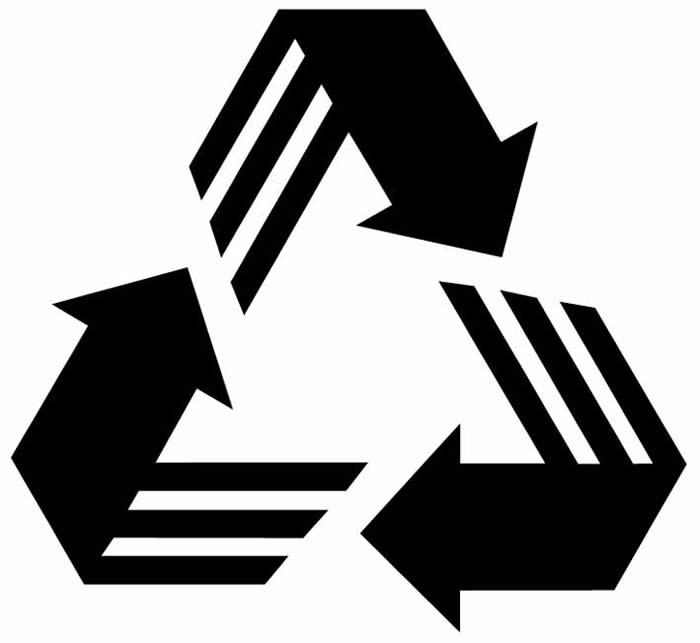 Recycle Man Symbol