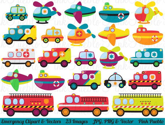Transportation Clip Art For Kids