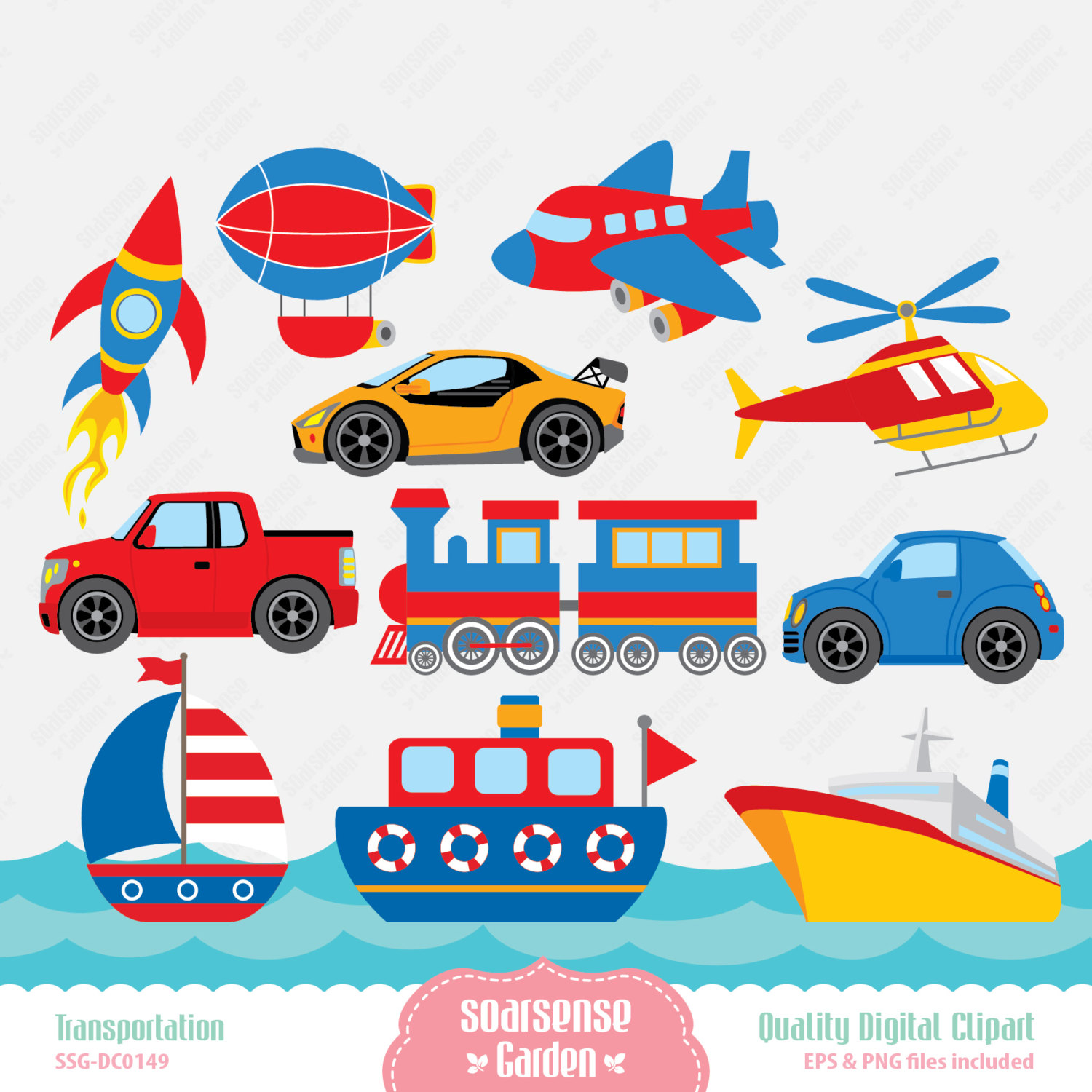 free clipart images transportation - photo #12