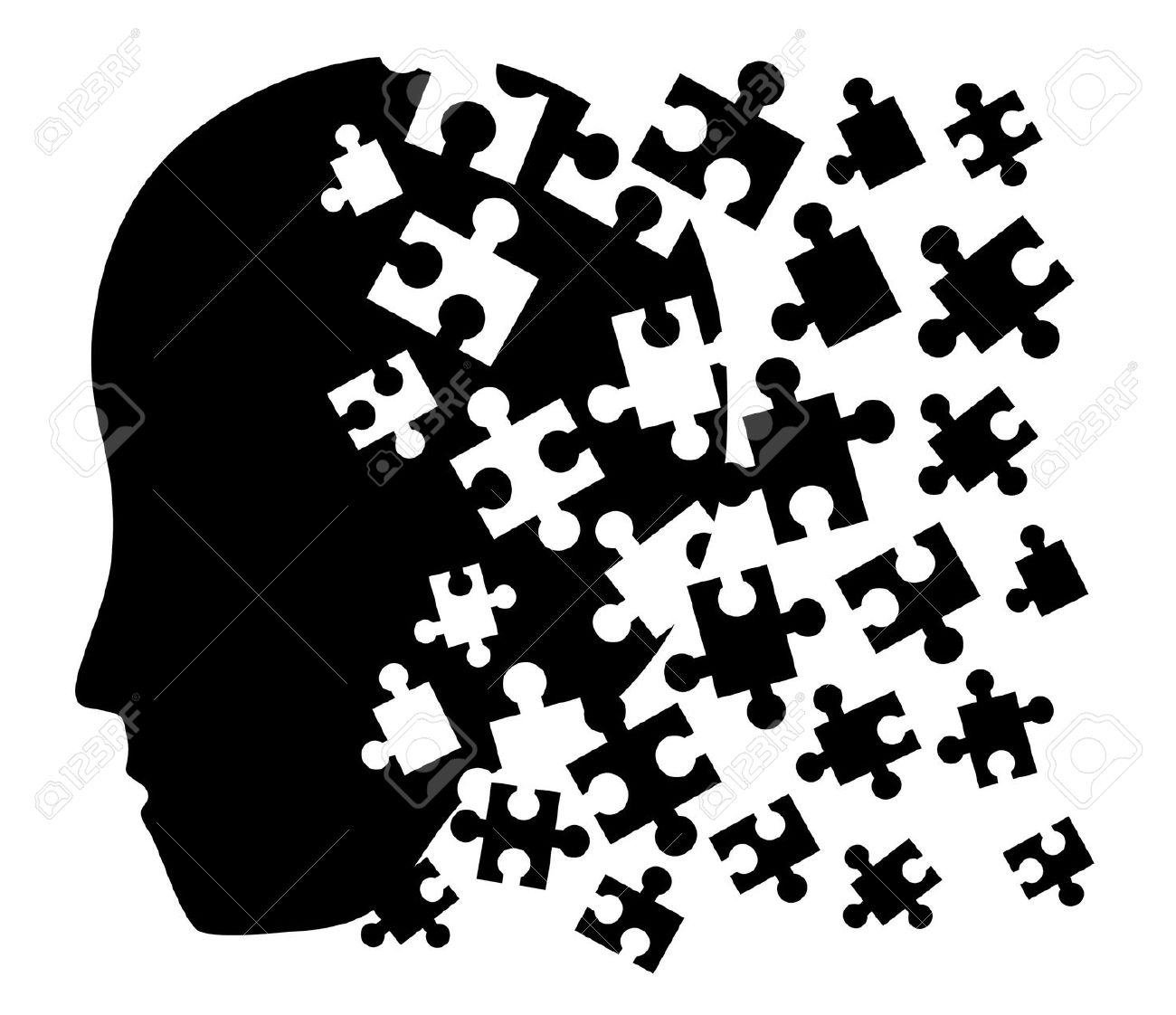 Trauma Puzzle Face Symbol Clipart Panda Free Clipart Images