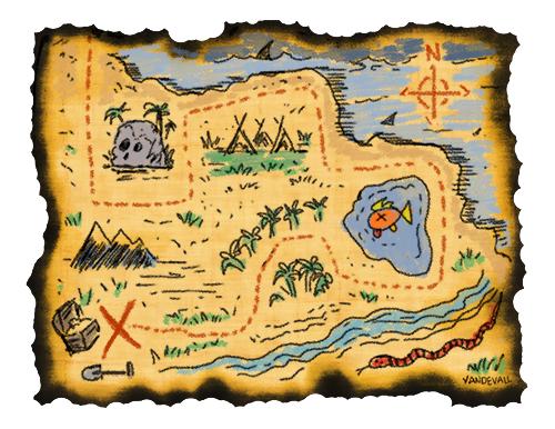 Pirate Treasure Map Clipart | Clipart Panda - Free Clipart ...