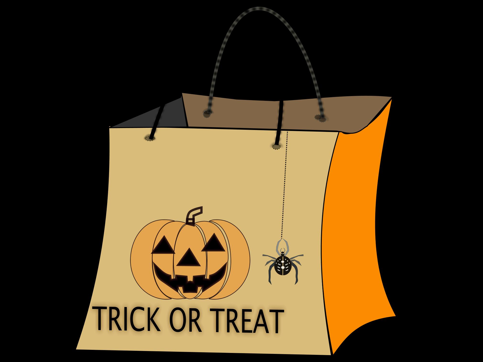Halloween Bags metallic halloween bags Treat20clipart