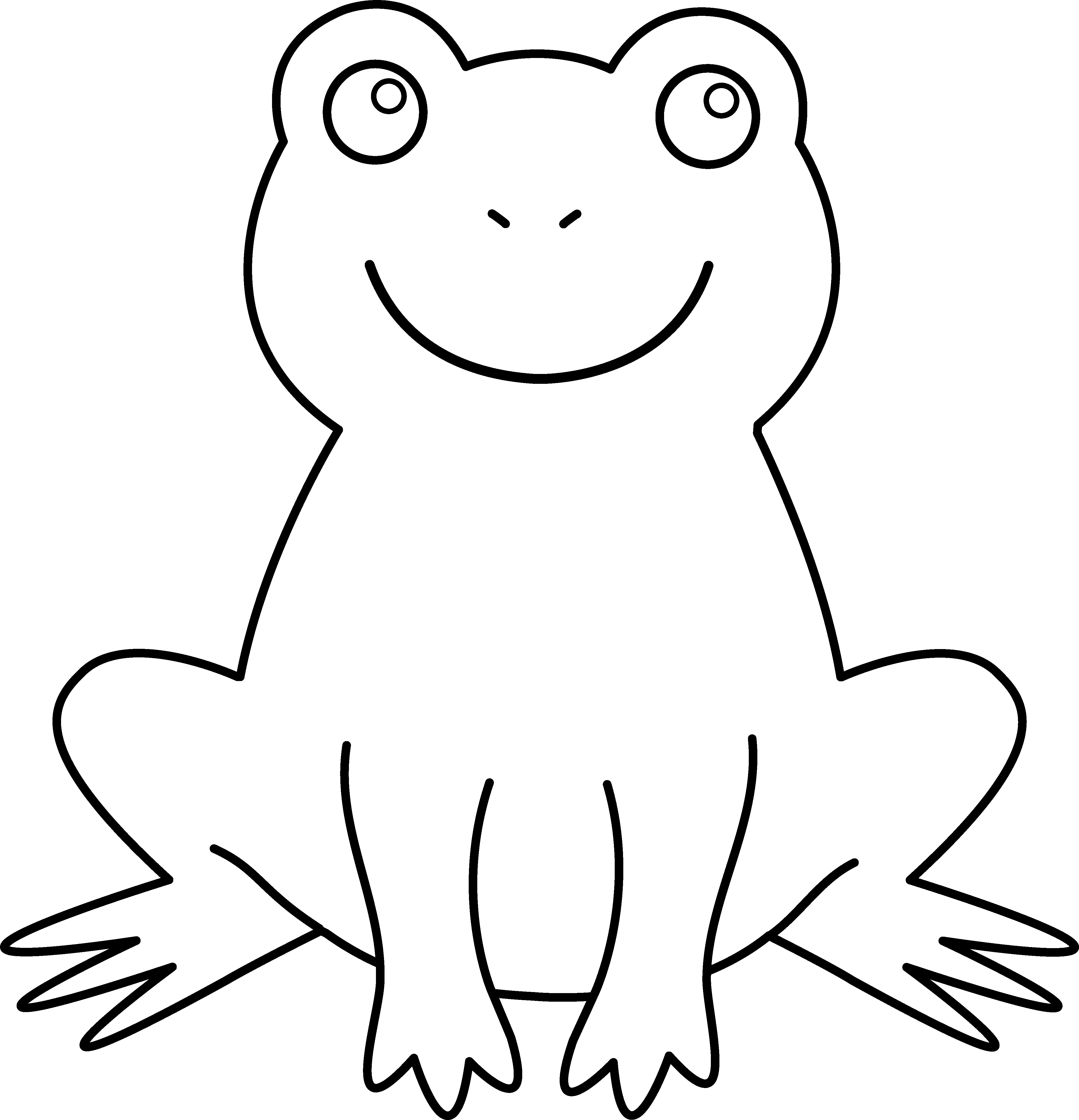 Free coloring pages red eyed tree frog