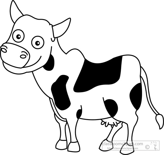 Clip Art Cow Clipart Black And White cow clipart black and white panda free images