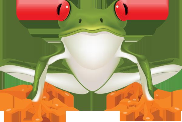 Black frog art - photo#54