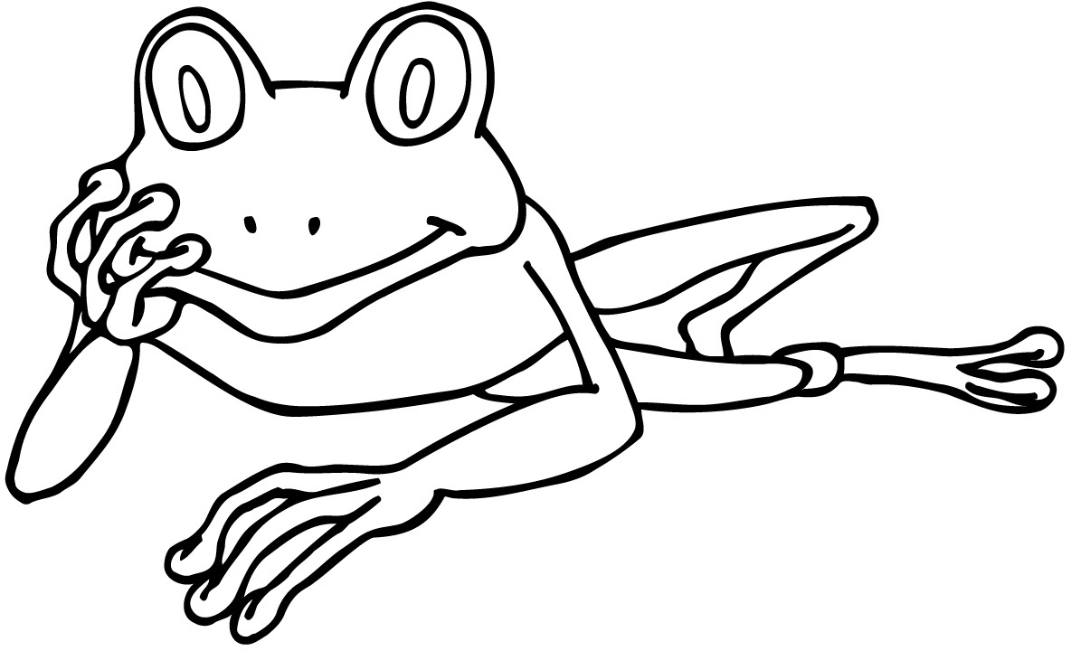 Free coloring pages red eyed tree frog - Tree 20frog 20coloring 20page