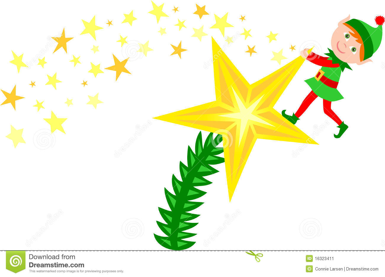 Christmas Tree Top Star   Clipart Panda - Free Clipart Images