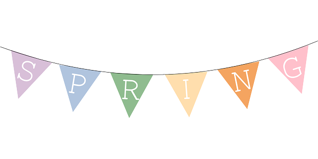 March banner. Triangle clipart panda free