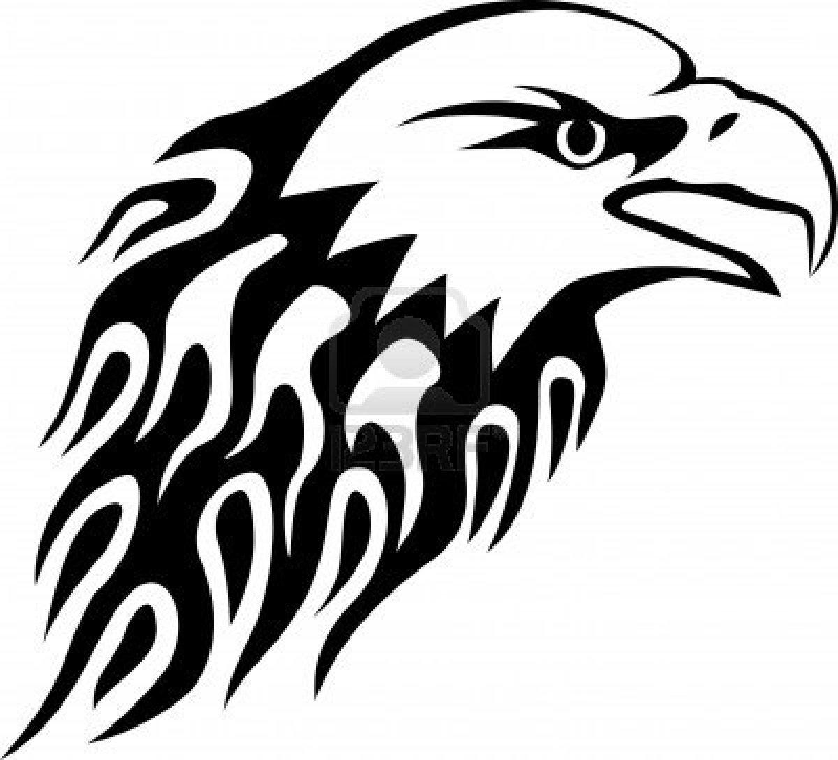 tribal eagle head clipart clipart panda free clipart images Chicken Clip Art Pink tribal eagle head clipart