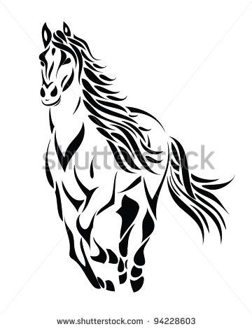 Horse Vector 1 Clip Art Free Download