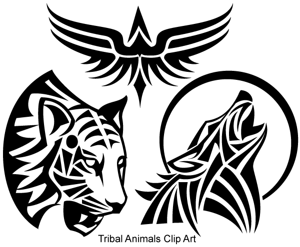 Tribal Wings Clipart | Clipart Panda - Free Clipart Images
