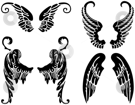 tribal%20wings%20clipart