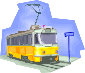 trolley-clipart-0511-0907-0706-2233_Electric_Trolley_Car_clipart_image ...