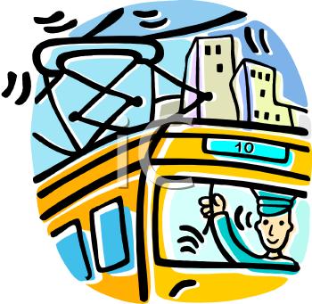 Tram Clipart   C...Free Clip Art Trolley Car