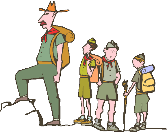 Boy Scout Volunteer Clipart 1