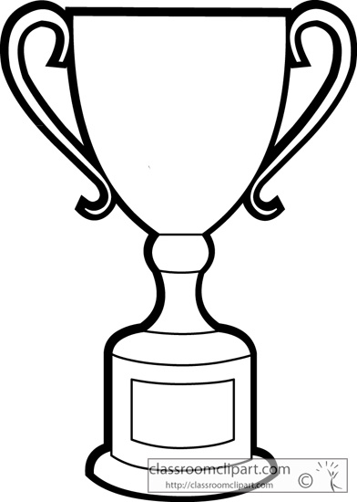 Trophy Clipart Black And White Clipart Panda Free
