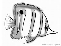 Realistic Tropical Fish Coloring Pages | Clipart Panda ...