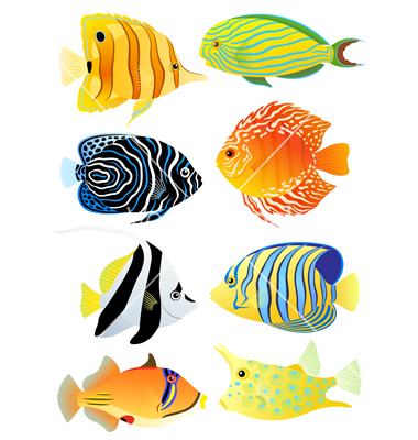 Tropical Fish Silhouette | Clipart Panda - Free Clipart Images