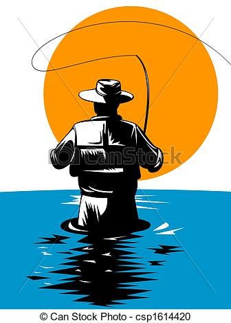 Clip Art Fly Fishing Clip Art trout fishing clipart panda free images