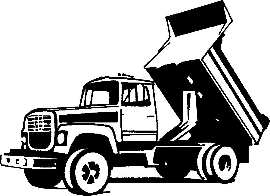 Clip Art Dump Truck Clip Art dump truck clipart black and white panda free clip art