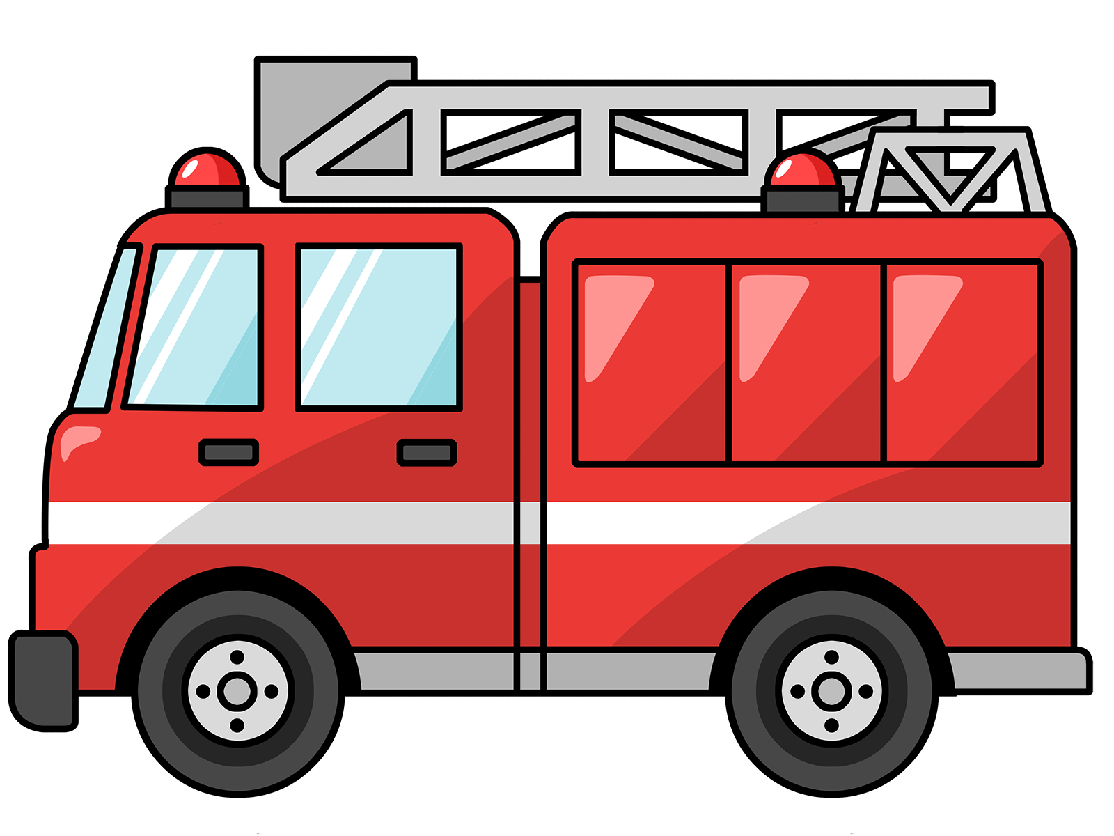 fire truck clipart clipart panda free clipart images