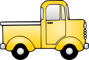 Pickup Truck Clipart Outline | Clipart Panda - Free Clipart Images