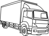 Truck Clipart Black And White | Clipart Panda - Free Clipart Images
