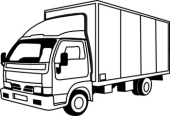 Truck Clipart Black And White | Clipart Panda - Free ...