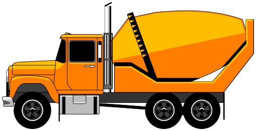 mixing truck clipart clipart panda free clipart images rh clipartpanda com dump truck clip art images moving truck images clip art