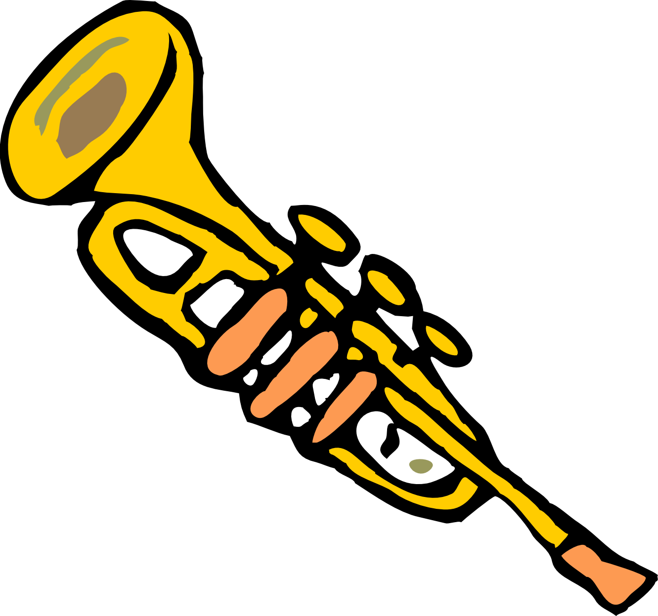 Trumpet Clip Art | Clipart Panda - Free Clipart Images