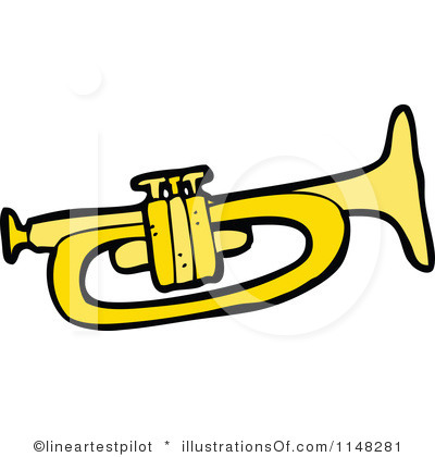 RF) Trumpet Clipart | Clipart Panda - Free Clipart Images
