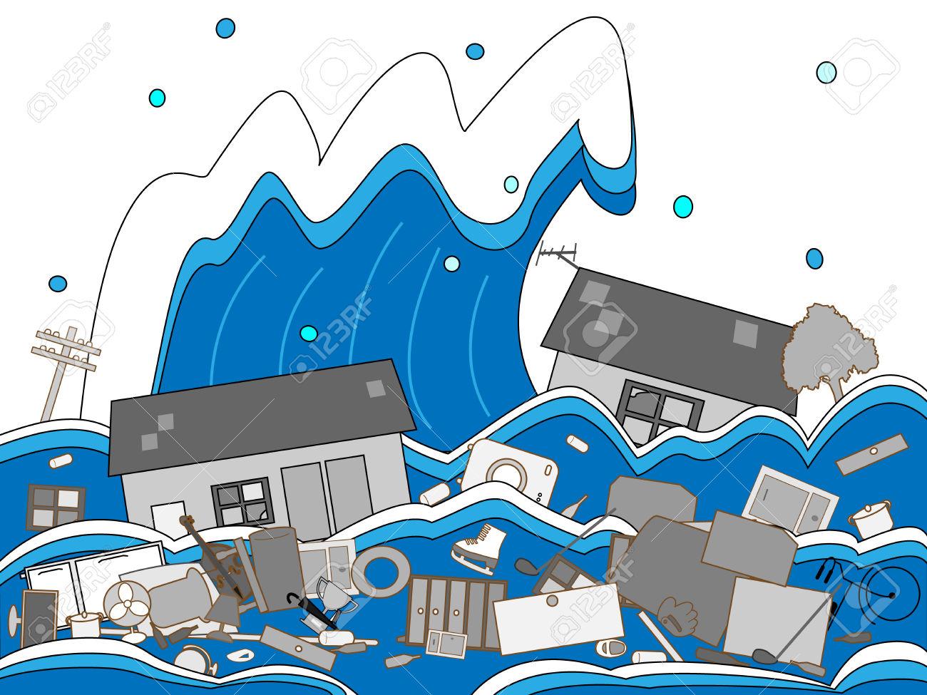 Clip Art Information Tsunami