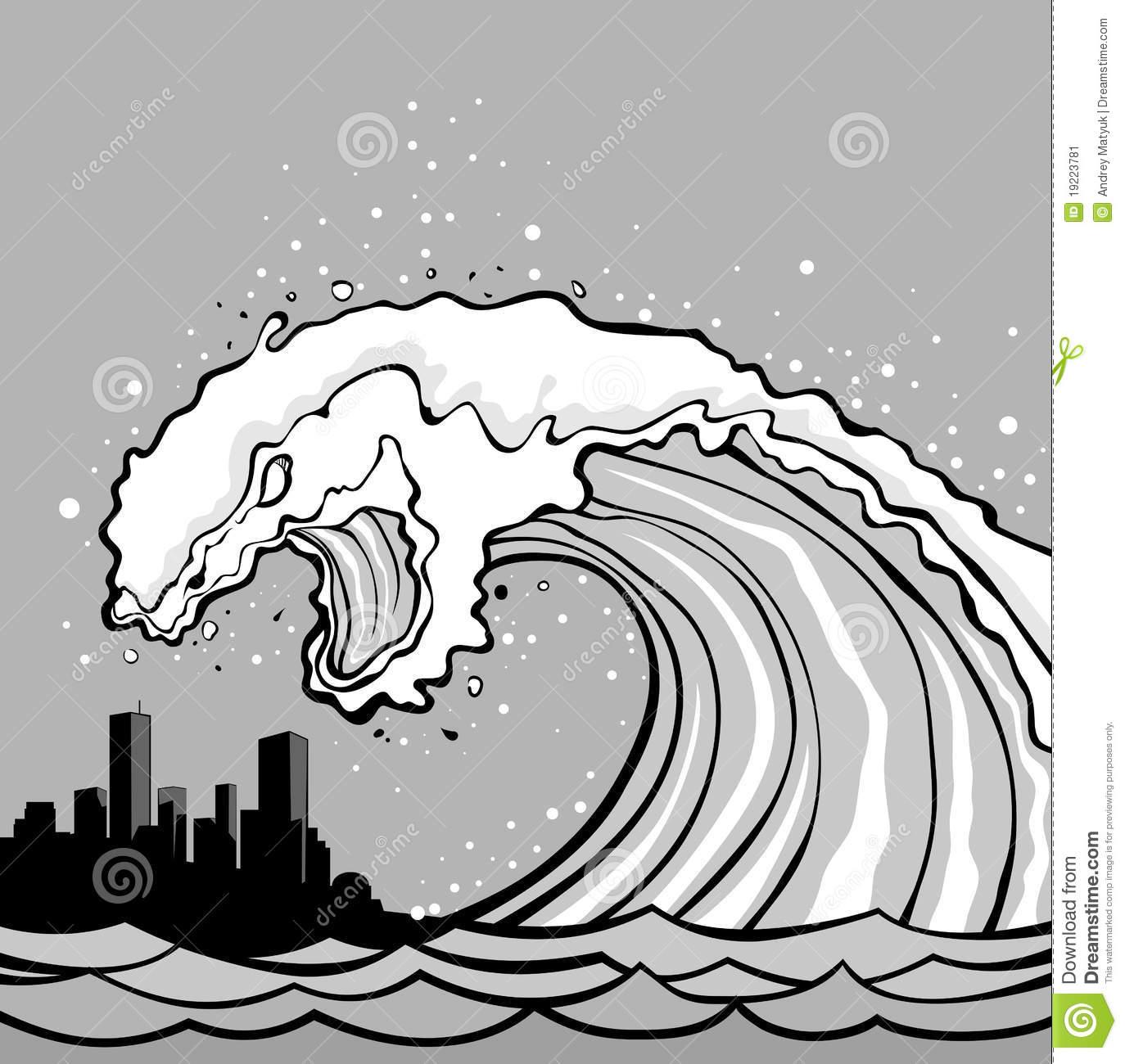 Tsunami Clip Art Free | Clipart Panda - Free Clipart Images