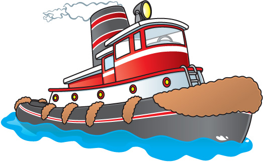 Cartoon Tugboat 22883659 on Preschool Reports
